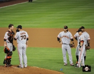 2013, sf giants, photo, buster posey, george kontos, brandon crawford,