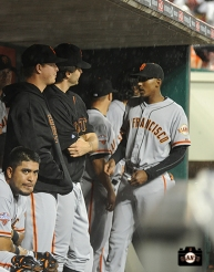 july 1, 2013, sf giants, photo, cincinnati reds, tea, matt cain, hector sanchez, barry zito, joaquin arias