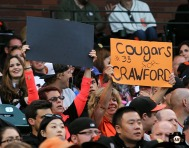 july 5, 2013, sf giants, photo, AT&T Park, fans