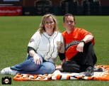 San Francisco Giants, S.F. Giants, photo, 2013, Family Day, Mark Grusbeck