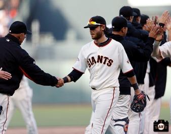 San Francisco Giants, S.F. Giants, photo, Brandon Crawford