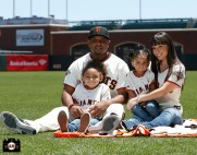 San Francisco Giants, S.F. Giants, photo, 2013, Family Day, Tony Abreu