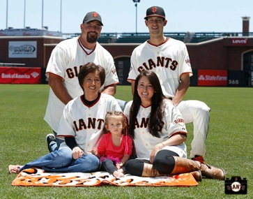 San Francisco Giants, S.F. Giants, photo, 2013, Family Day, Jake Dunning