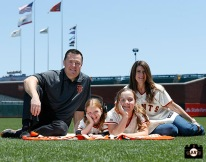San Francisco Giants, S.F. Giants, photo, 2013, Family Day, Dave Groeschner