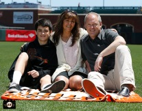 San Francisco Giants, S.F. Giants, photo, 2013, Family Day, Bret Alexander