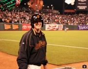 S.F. Giants, San Francisco Giants, 2013, Photo, Ball Dude