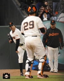july 8, 2013, sf giants, photo, 16 inning game, mark gardner, hector sanchez