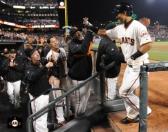 july 9, 2013, sf giants, photo, kensuke tanaka major league debut, at&t park, team