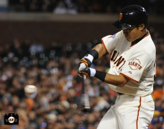 july 9, 2013, sf giants, photo, kensuke tanaka major league debut, at&t park,