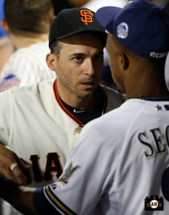 sf giants, photo, 2013, marco scutaro, all star game