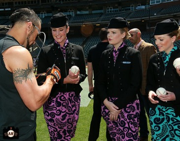 San Francisco Giants, S.F. Giants, photo, 2013, All Blacks, Andres Torres, Air New Zealand