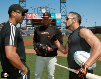 San Francisco Giants, S.F. Giants, photo, 2013, All Blacks, Victor Vito, Hensley Muelens, Andres Torres