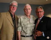 San Francisco Giants, S.F. Giants, photo, 2013, Lon Simmons, Mike Krukow, Duane Kuiper