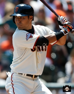 San Francisco Giants, S.F. Giants, photo, 2013, Kensuke Tanaka