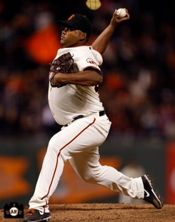 San Francisco Giants, S.F. Giants, photo, 2013, Jean Machi