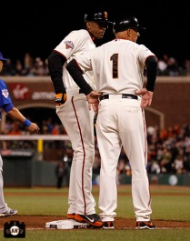 San Francisco Giants, S.F. Giants, photo, 2013, Joaquin Arias, Tim Flannery