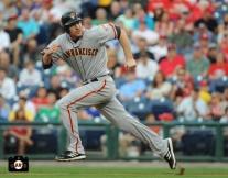 roger kieschnick, major league debut, july 31, 2013, sf giants, photo,