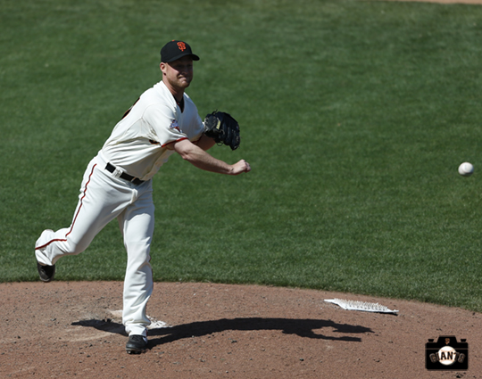 San Francisco Giants, S.F. Giants, photo, 2013, Chad Gaudin