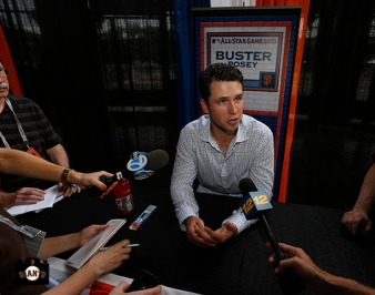 july 15, 2013, sf giants, all star, press conference, photo