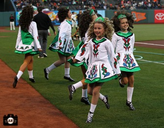 San Francisco Giants, S.F. Giants, photo, 2013, Irish Heritage Night