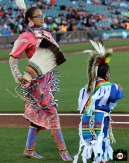San Francisco Giants, S.F. Giants, photo, 2013, Native American Heritage Night