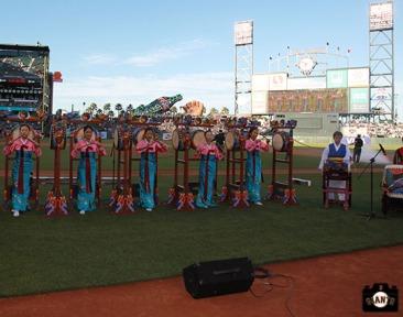 San Francisco Giants, S.F. Giants, photo, 2013, Korean Heritage Night