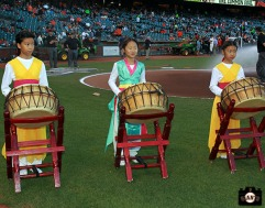 San Francisco Giants, S.F. Giants, photo, 2013, Korean Heritage Night