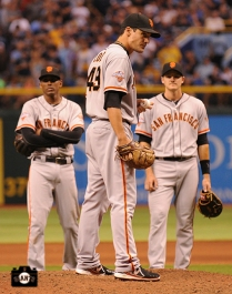 tropicana field, sf giants, photo, august 3, 2013,