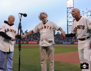 San Francisco Giants, S.F. Giants, photo, 2013, Grateful Dead, Tim Flannery, Bob Weir , Tom Flannery