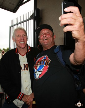 San Francisco Giants, S.F. Giants, photo, 2013, Grateful Dead, Bill Walton