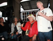 San Francisco Giants, S.F. Giants, photo, 2013, Grateful Dead, Trixie Garcia, Mountain Girl, Bill Walton