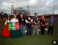 San Francisco Giants, S.F. Giants, photo, 2013, Italian Heritage Night