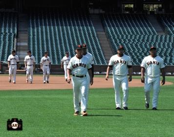 august 7, 2013, sf giants, team photo