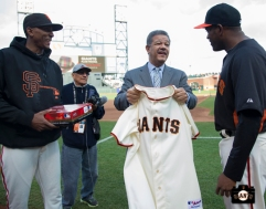 august 9, 2013, sf giants, Presidente Leonel Fernández