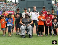 San Francisco Giants, S.F. Giants, photo, 2013, Junior Giants, Willie McCovey