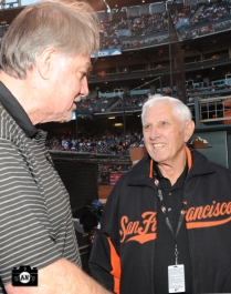 sf giants, photo, jim davenport, 80th birthday