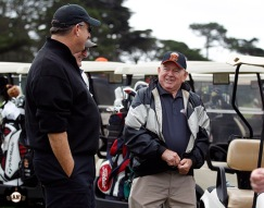 San Francisco Giants, S.F. Giants, photo, 2013, Harding Park, Willie McCovey Golf Classic, Hobie Landrith
