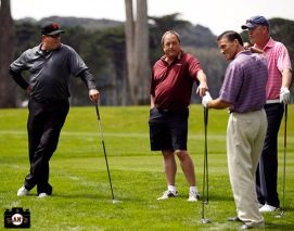 San Francisco Giants, S.F. Giants, photo, 2013, Harding Park, Willie McCovey Golf Classic, Will Clark