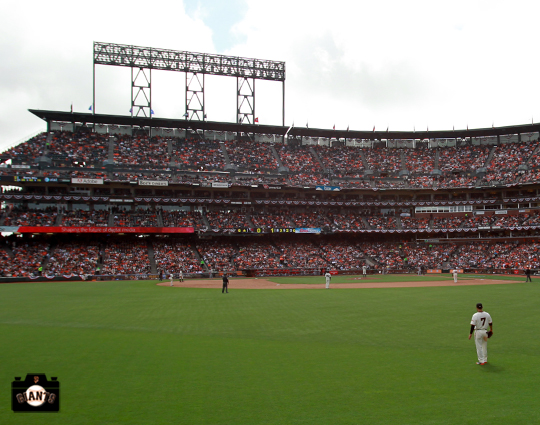 AT&T Park, sf giants, photo
