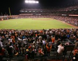 fans, yusmerio petit, september 6, 2013, sf giants, photo, almost a perfect game, 1 hitter, complete game