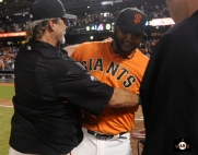 yusmerio petit, september 6, 2013, sf giants, photo, almost a perfect game, 1 hitter, complete game