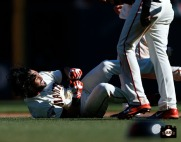 San Francisco Giants, S.F. Giants, photo, 2013, Angel Pagan