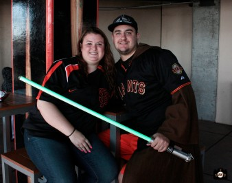 San Francisco Giants, S.F. Giants, photo, 2013, Star Wars