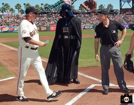 San Francisco Giants, S.F. Giants, photo, 2013, Star Wars, Ron Wotus