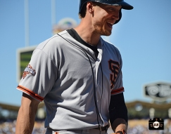september, 2013, sf giants, photo, hunter pence, player of the week