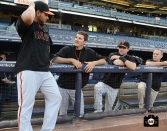 september 20, 2013, sf giants, photo, yankee stadium, pre game