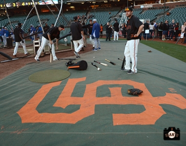 september 24, 2013, sf giants, photo AT&T Park