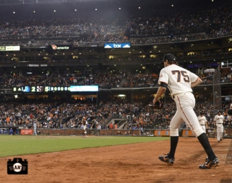 september 25, 2013, at&t park, barry zito, final game with the giants, photo