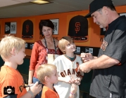 fans, shana daum, september 28, 2013, sf giants, photo