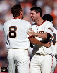 San Francisco Giants, S.F. Giants, photo, 2013, Hunter Pence, Brandon Belt